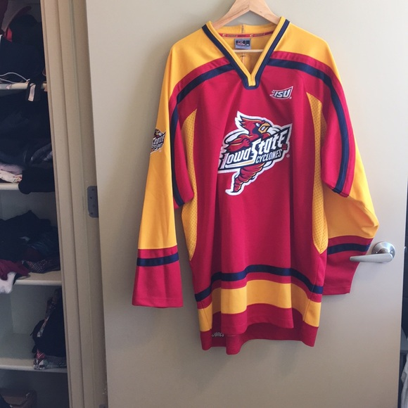 1d8115c4b Colosseum Other | Like New Vintage Iowa State Hockey Jersey Xxl ...